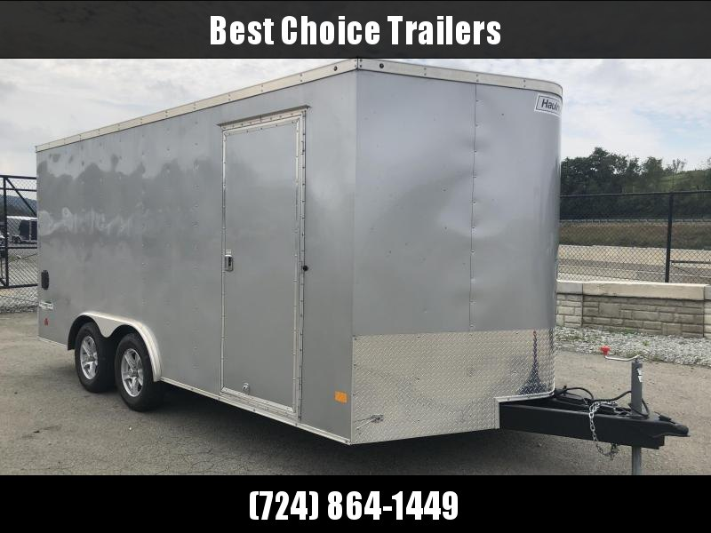 USED 2018 Haulmark 8.5x16' Enclosed Trailer 7000# GVW