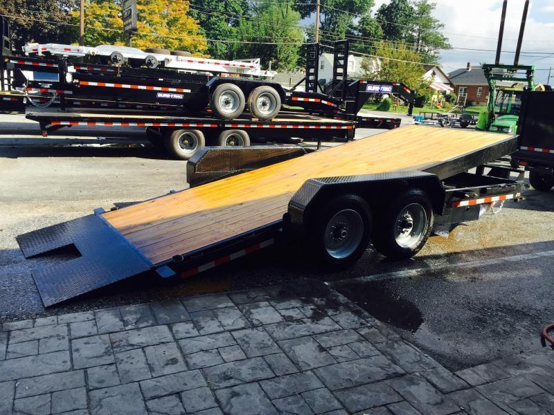 2018 Sure-Trac Gravity Tilt Bed Equipment 7'X18' 16000# GVW