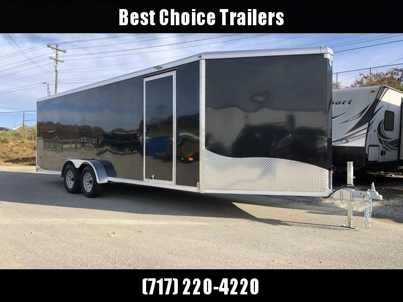2019 Neo 7x26' NASR Aluminum Enclosed All-Sport Trailer * DELUXE MODEL * BLACK * UTV * ATV * Motorcycle * Snowmobile