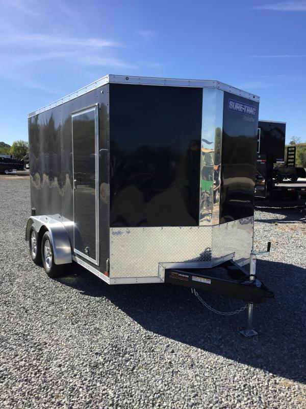 2017 Sure-Trac 7x12' Enclosed Cargo Trailer 7000# GVW
