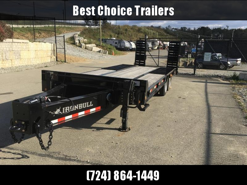 2018 Iron Bull 102X20+6' Air Brake Deckover FLP0226252 Flatbed Trailer 50000# GVW