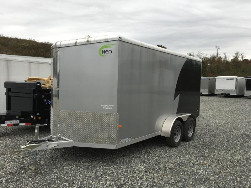 2016 Neo NAVR 7x14 Aluminum Enclosed Cargo Trailer