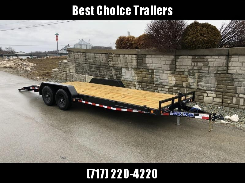 2019 Load Trail 7x20' Car Hauler Trailer 9990# GVW * CH8320052 * DEXTERS * POWDER PRIMER * BLACKOUT * 2-3-2 WARRANTY * CLEARANCE