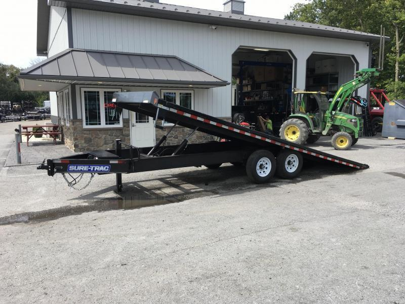 2018 Sure-Trac 102x22' Power Tilt Deckover 15000# GVW