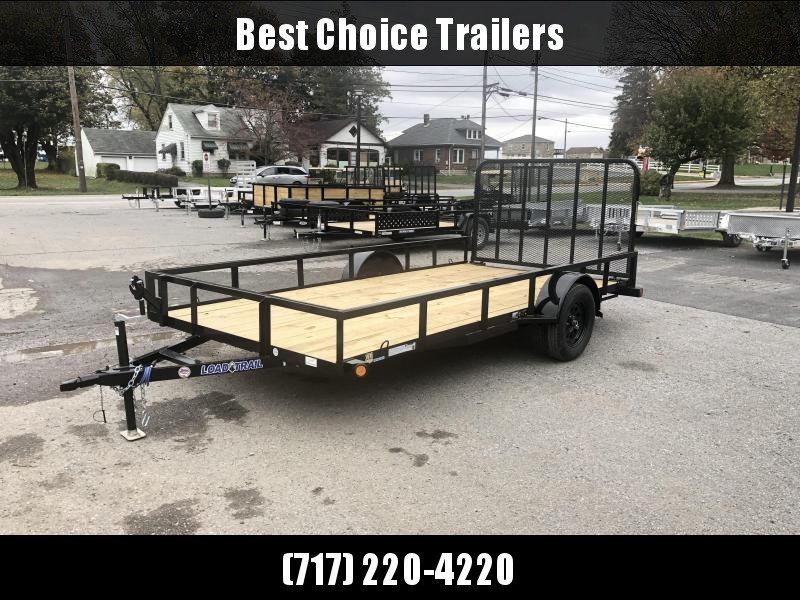 2019 Load Trail 7x14' Tube Top Utility Landscape Trailer 2990# GVW * SE8314031 * TUBE TOP * TUBE GATE * POWERCOATED W/ ZINC PRIMER * DEXTER'S * 2-3-2 WARRANTY
