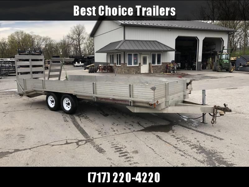 2004 Worthington Trailers Trade In Flatbed Trailer