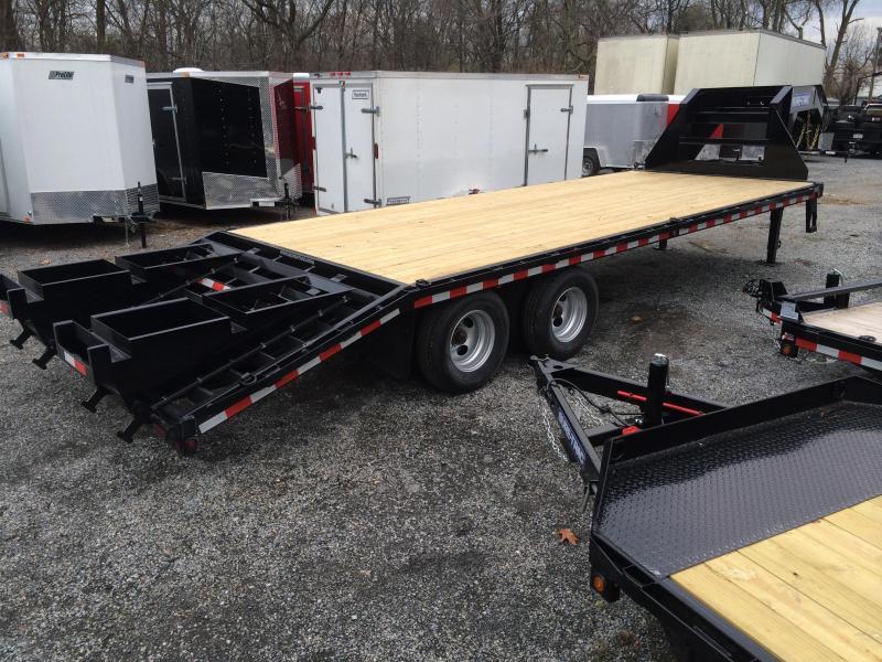2016 Sure-Trac 102x20+5 22K Beavertail Deckover Trailer