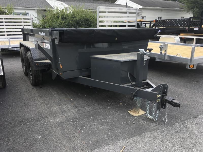 2018 Lamar 5x10' DS60 Dump Trailer 7000# GVW - GRAY