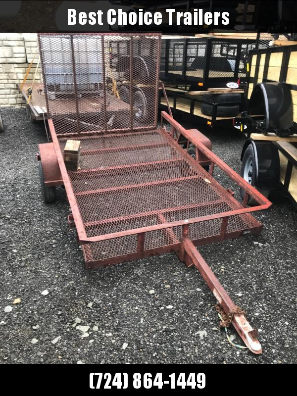 USED Mustang Trailers 5x10' Utility Landscape Trailer 2000# GVW