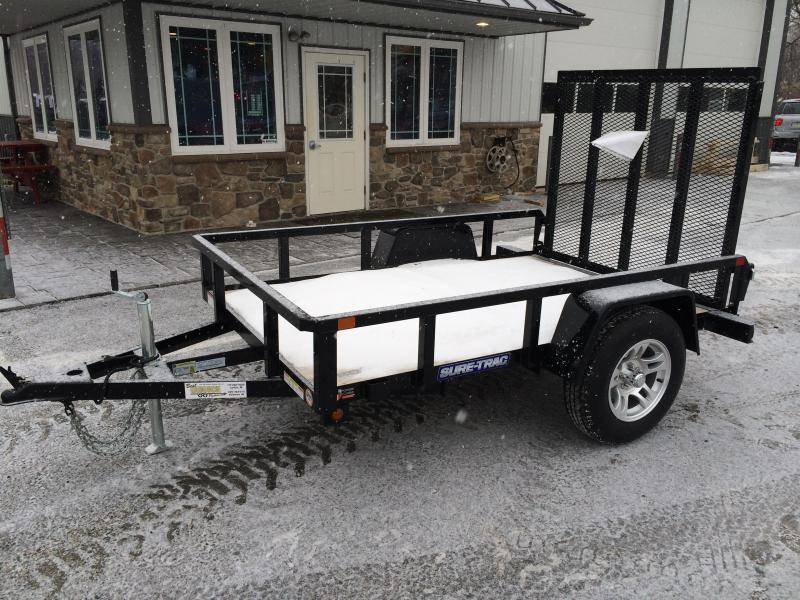 2018 Sure-Trac 5x8' Tube Top Utility Trailer 2990# GVW