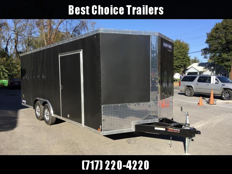 2018 Sure-Trac 8.5x20' Enclosed Car Trailer 9900# GVW