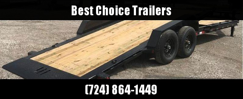 "2019 Load Trail 7x20' Gravity Tilt Equipment Trailer 14000# * TH8320072 * 8"" I-BEAM FRAME * TORSION * STOP VALUE * CHAIN TRAY * POWDER PRIMER * DEXTER'S * 2-3-2 WARRANTY"