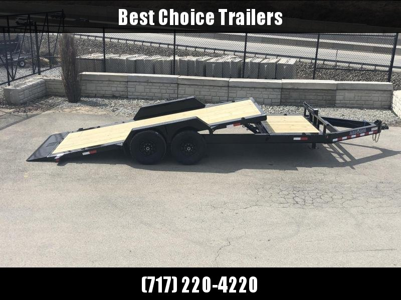 "2019 Load Trail 7x20' Gravity Tilt Equipment Trailer 14000# * TH8320072 * 8"" I-BEAM FRAME * TORSION * STOP VALUE * POWDER PRIMER * DEXTER'S * 2-3-2 WARRANTY * CLEARANCE"