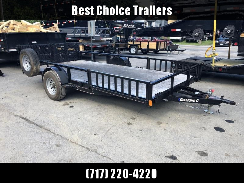2018 Diamond C Trailers Trade In Utility Trailer