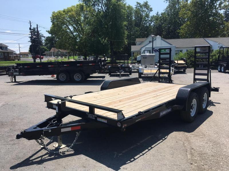 2017 Sure-Trac Implement 7'x18' 9900# Equipment Trailer