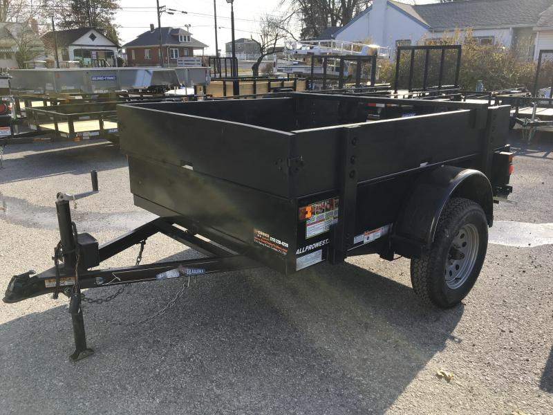 USED 2010 Diamond C 5x8' Tilt Utility Trailer 2990# GVW