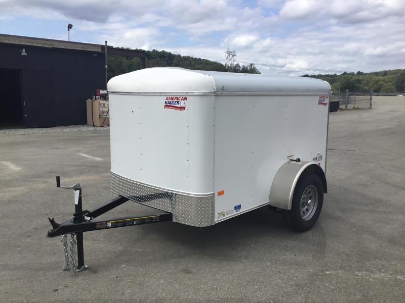 2018 American Hauler 5x8 Enclosed Cargo Trailer 2000# GVW
