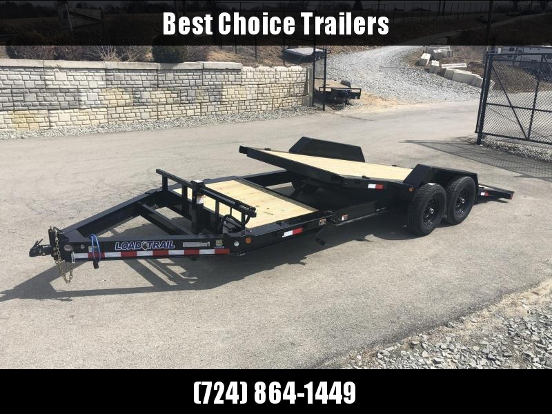 "2020 Load Trail 102x22' Gravity Tilt Equipment Trailer 14000# * TH8320072 * 8"" I-BEAM FRAME * TORSION * STOP VALUE * POWDER PRIMER * DEXTER'S * 2-3-2 WARRANTY * 102"" DECK"
