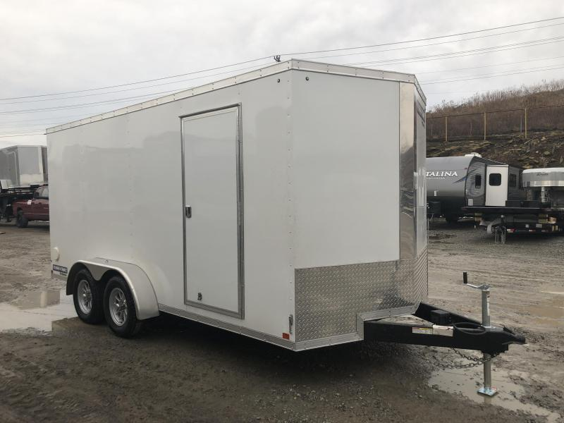 2018 Sure-Trac 7x16' Enclosed Cargo Trailer 7000# GVW - STW8416TA