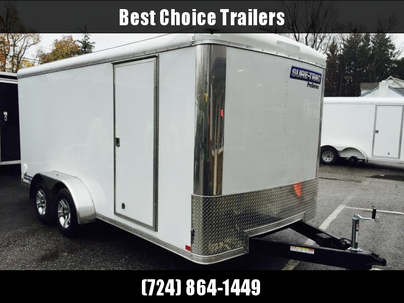 2019 Sure-Trac 7x16' Enclosed Cargo Trailer 7000# GVW * SCREWLESS EXTERIOR