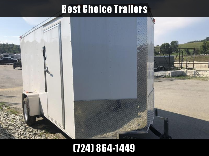 2016 Freedom 6x12' Enclosed Cargo Trailer 2990# GVW