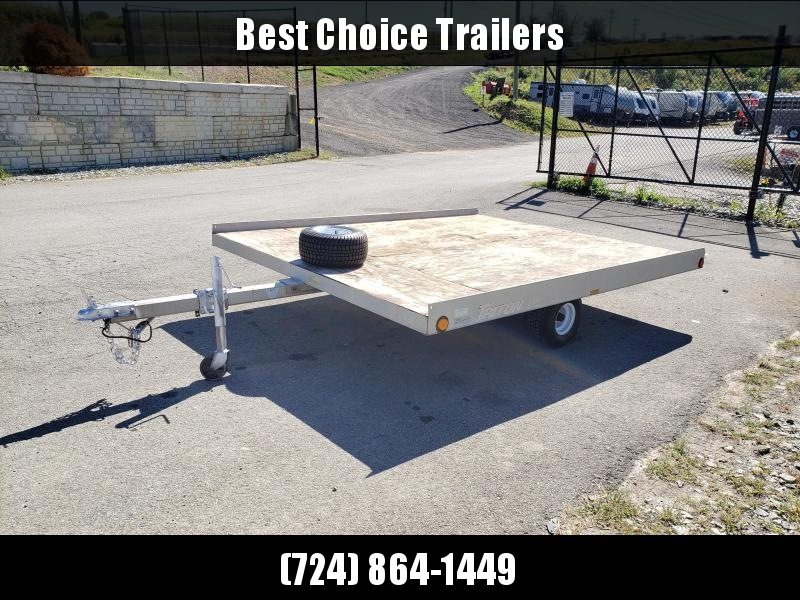 USED Triton 2-Place Aluminum Tilt Trailer * SNOWMOBILE * ATV'S