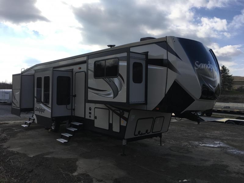 2018 Forest River Inc. SANDPIPER 379FLOK Fifth Wheel