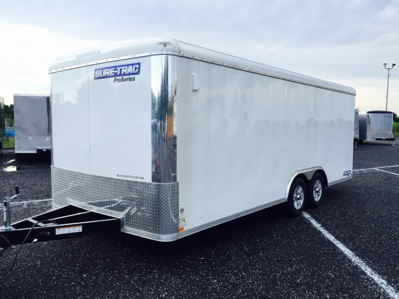 2017 Sure-Trac STRCH Commercial Round Top Enclosed Car Hauler 8.5