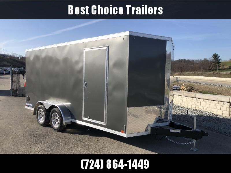 2018 Sure-Trac 7x16' Enclosed Cargo Trailer 7000# GVW * CHARCOAL