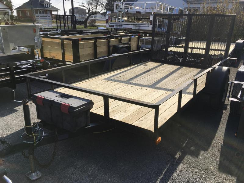 USED 1998 SP Construction 6x10' Utility Trailer 3000# GVW