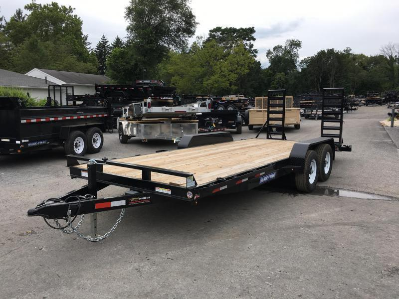 2018 Sure-Trac Implement 7'x18' Equipment Trailer 9900# GVW - ST8118IT-B-100