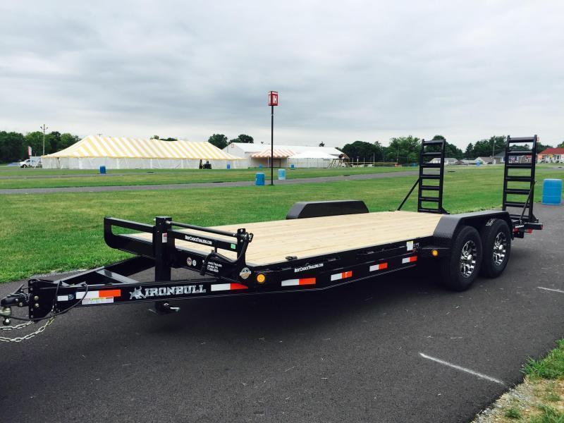 2017 Norstar Ironbull 7X20' Equipment Trailer 14000# GVW