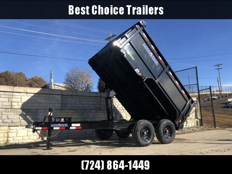"2020 Load Trail 7x14' Dump Trailer 14000# * 4' HIGH SIDES * 8"" I-BEAM FRAME * 12K JACK * 3-WAY GATE * TARP KIT * SCISSOR HOIST * 10GA 2PC SIDES & FLOOR * 6"" BED FRAME * DEXTER'S * 2-3-2 * PRIMER"
