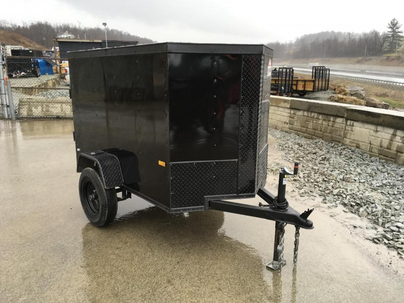 2018 Rock Solid 4x6' Enclosed Cargo Trailer 1900# GVW