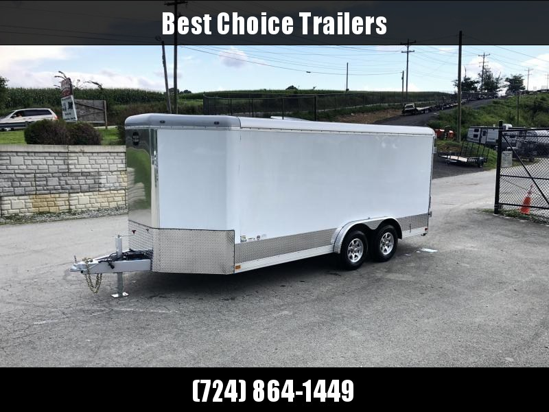 NEW Wells Cargo EW1624-V Commercial Enclosed Cargo Trailer 9990# GVW * LOADED MODEL * COMMERCIAL CONTRACTOR TRAILER