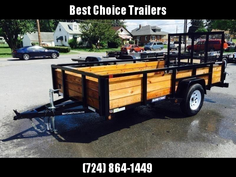 2019 Sure-Trac 5x8 3-Board High Side Tube Top Utility Trailer 2990# GVW