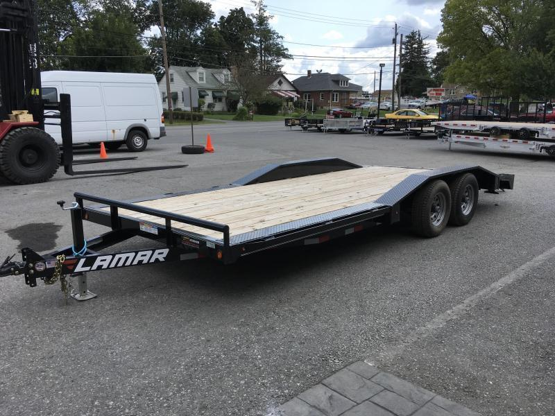 2018 Lamar 102x20' CC10 Car Trailer 9990# GVW - DRIVE OVER FENDERS