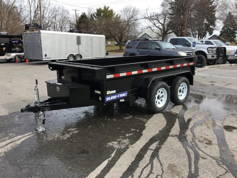 2018 Sure-Trac 5x10 Low Profile Homeowner Dump Trailer 7000# GVW