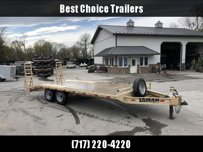 2017 Lamar Trailers Trade In Flatbed Trailer