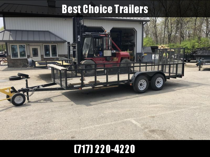 2017 Carry-On Trade In Utility Trailer