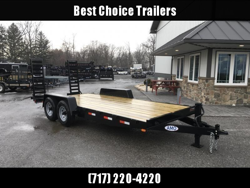 2018 AMO 7x16' Equipment Trailer 12000# GVW * CLEARANCE