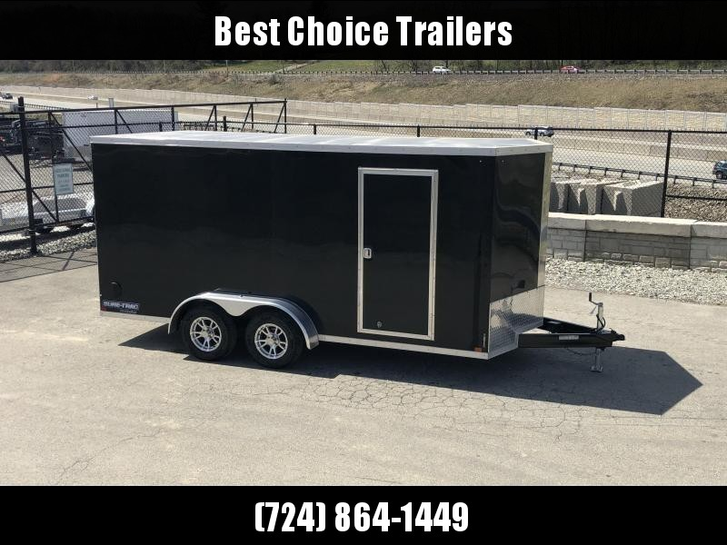 2019 Sure-Trac 7x14' Enclosed Cargo Trailer 7000# GVW * BLACK