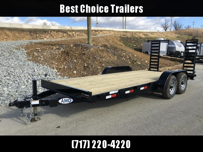 2018 AMO 7x18' Equipment Trailer 9990# GVW