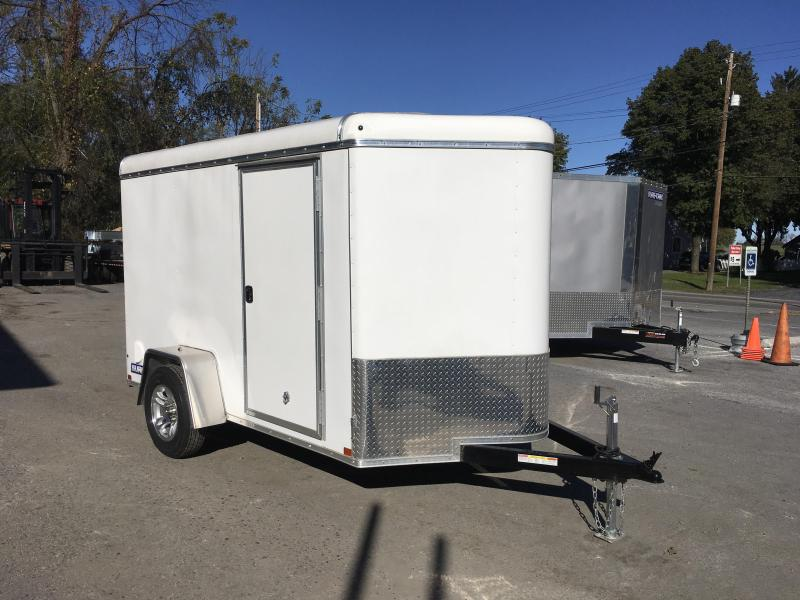 2016 Sure-Trac 6 x 10 STRW Round Top V-nose Enclosed Cargo 2990# GVW
