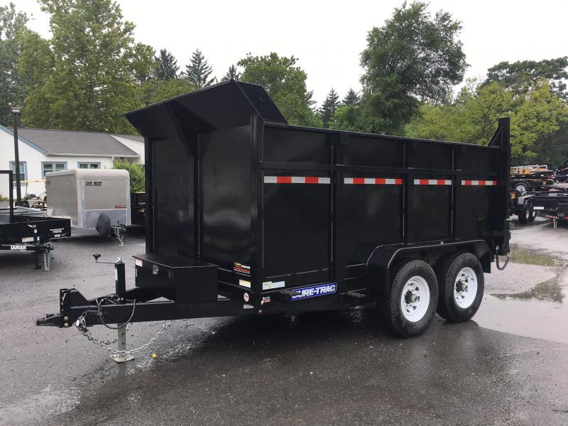 2018 Sure-Trac 7x12' Low Profile Hydraulic Dump Trailer 12000# DUAL PISTON