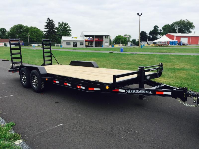 2018 Norstar Ironbull 7x18' Equipment Trailer 14000# GVW