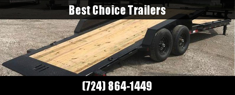 "2019 Load Trail 7x20' Gravity Tilt Equipment Trailer 14000# * TH8320072 * 8"" I-BEAM FRAME * TORSION * STOP VALUE * CHAIN TRAY * POWDER PRIMER * DEXTER'S * 2-3-2 WARRANTY"