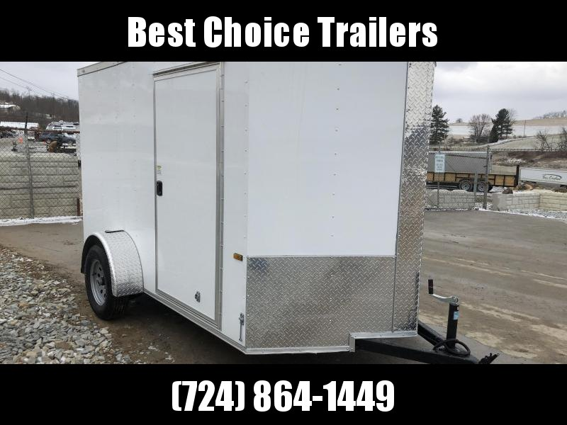 2018 Rock Solid 6x10' Enclosed Cargo Trailer 2990# GVW