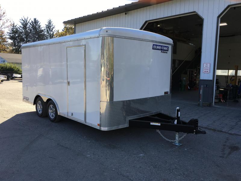 2018 Sure-Trac 8.5x16' Enclosed Cargo Trailer 7000# GVW - VARIOUS OPTIONS