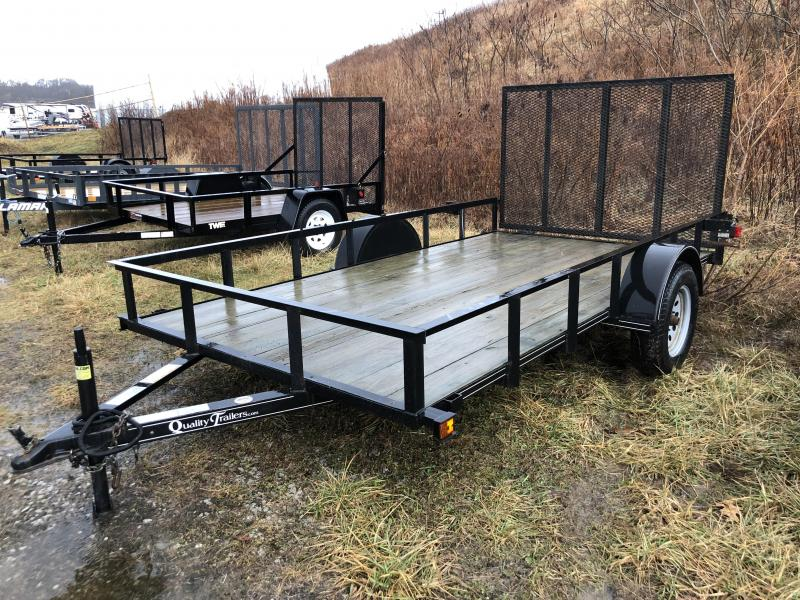USED 2012 Quality 6x12' Utility Trailer 2990# GVW